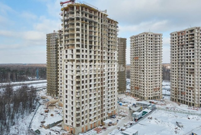 Фото -  жилой комплекс Одинград квартал Лесной