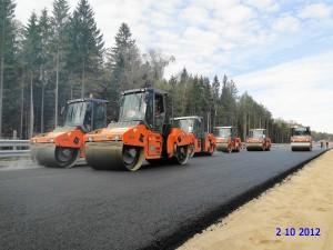 Автомагистраль «Обход Одинцово» планируют сдать в эксплуатацию в сентябре 2013 года